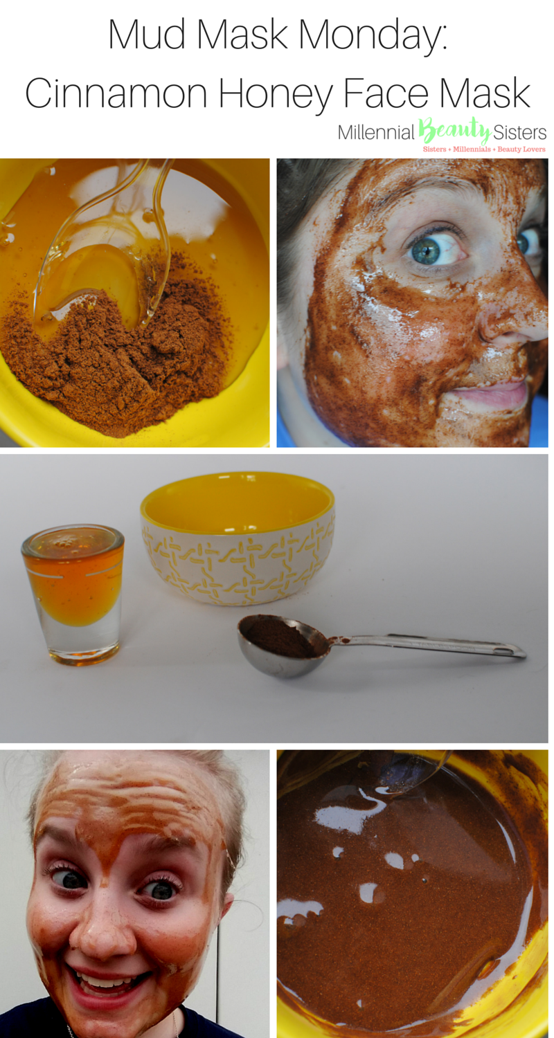 Cinnamon Honey Face Mask for Mud Mask Monday millennialbeautysisters.com