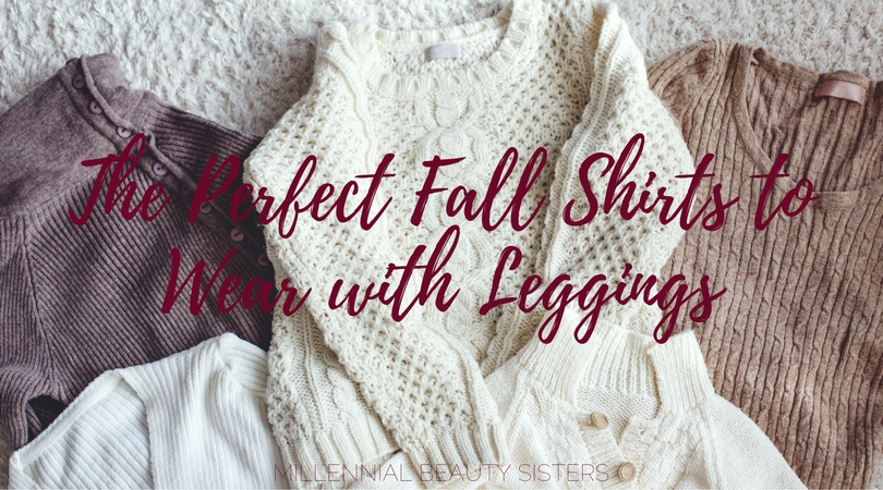 "We all love leggings. It's finally Fall and now the question is ""what do I wear with all these leggings""...These are perfect shirts to wear with leggings!"
