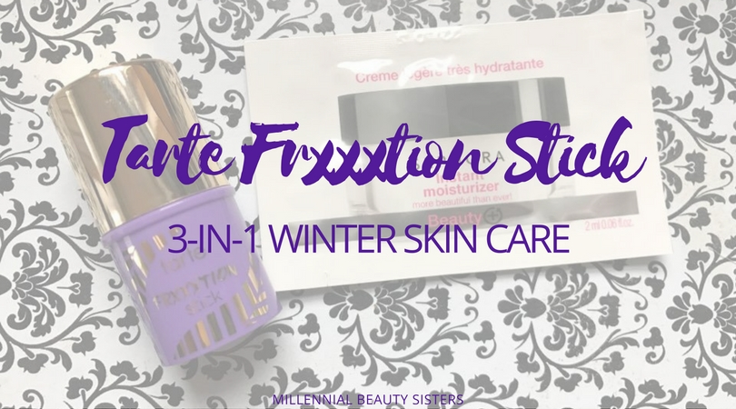 Tarte FrxxxtionStick is a must have in my winter skin routine. I can't live with dry, itchy, uneven skin all winter long! This is how I avoid all of that.