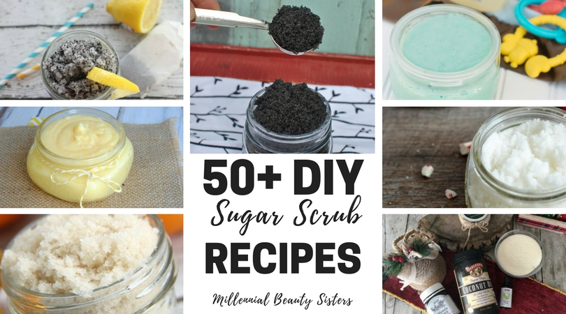 Here are more than 50 DIY sugar scrub recipes that you can try! These recipes will help you naturally boost your skincare routine with everyday ingredients.