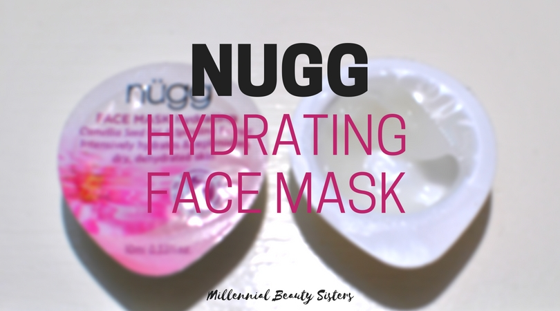 For Mud Mask Monday Katherine and I are trying out the Nugg Hydrating Face Mask. It's packed full of good stuff to keep our skin hydrated and beautiful.