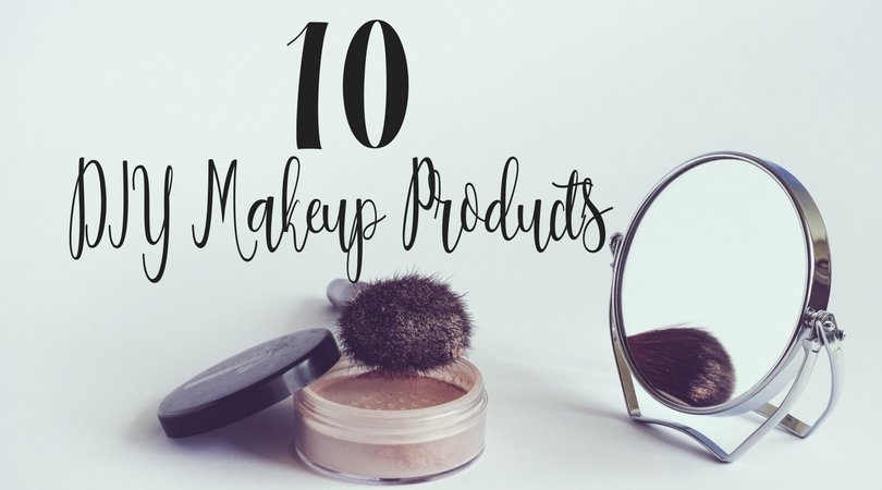 Creating DIY makeup products is cost effective, fun, and easier than you might think! These are 10 of my favorite makeup DIY products.