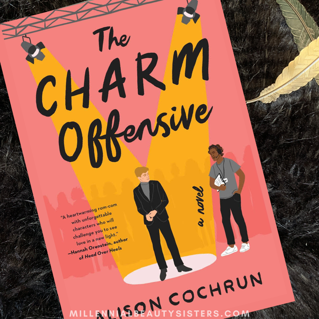 featured image showing the charm offensive with front cover.