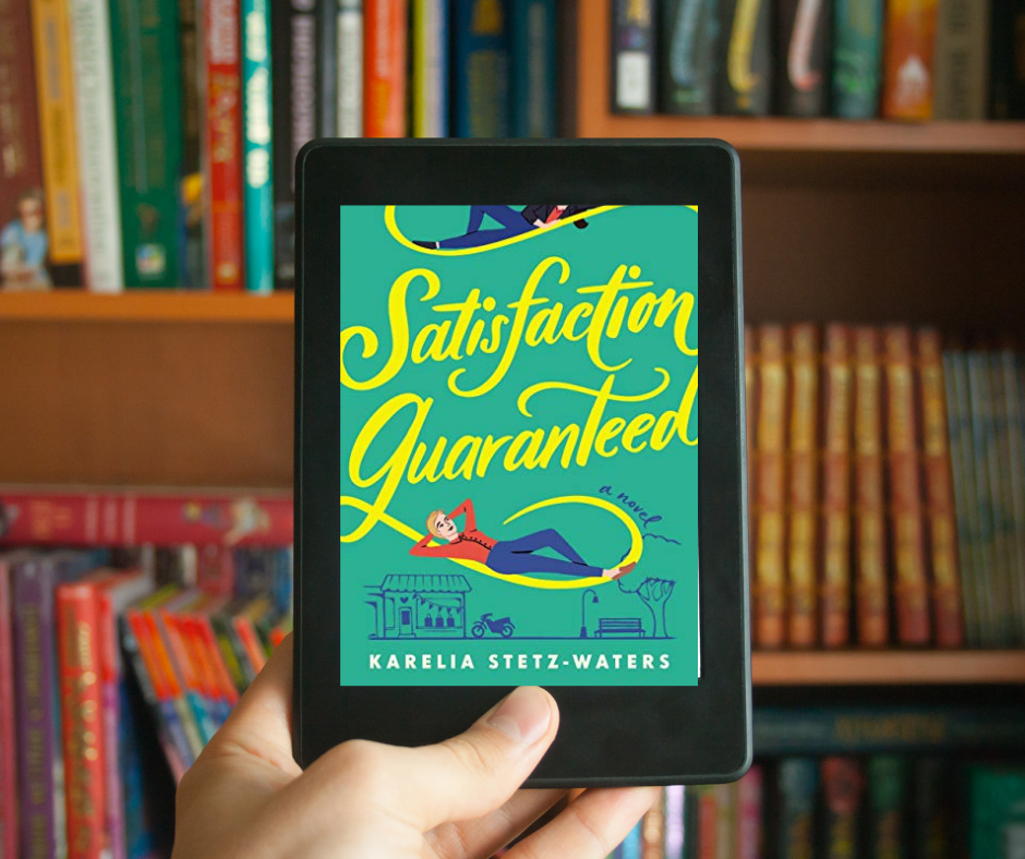 Satisfaction Guaranteed is a book about two very different women who meet under some comical and not very romantic conditions but end up falling in love.